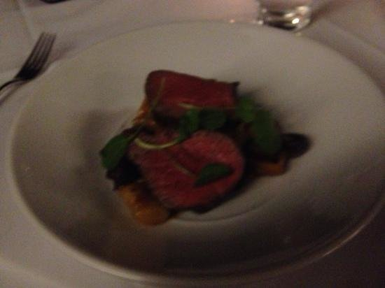 Byron at Byron Resort Restaurant: $40 main - beef with gnocchi. $10 extra for a few stalks of broccolini.