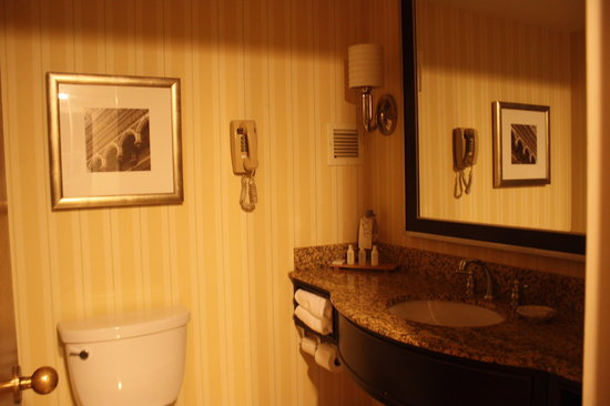 Renaissance St. Louis Airport Hotel: bathroom