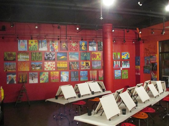 wall of fame picture of the paint mixer park city