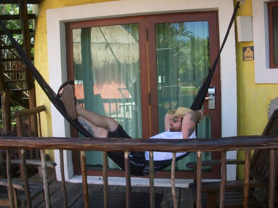 Iberostar Cozumel: Every porch has a hammock