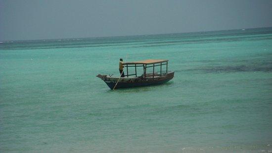Pongwe Beach Hotel: Hotel boat