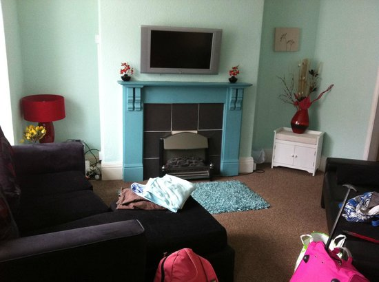 Seagulls  Bridlington: Fab living room