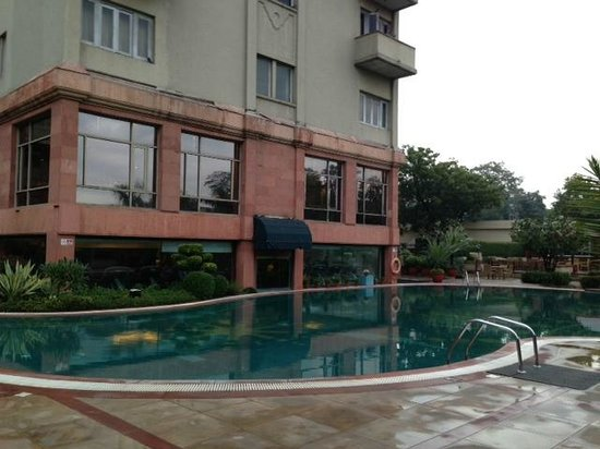 The Ashok: Swimming pool