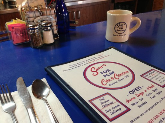 Sam's For Play Cafe & Catering: Come eat with us!