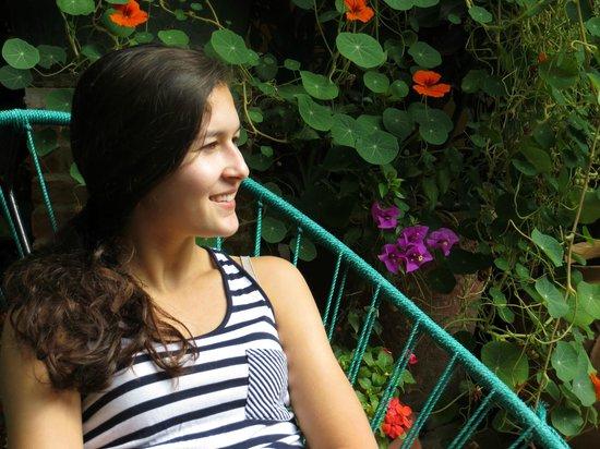 Las Golondrinas: courtyard gardens