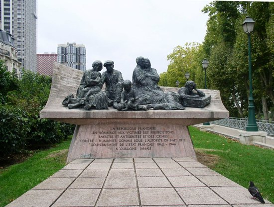 Monument commemoratif de la rafle du Vel'd'Hiv