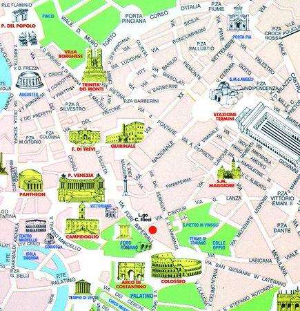 Karta Over Roms Sevardheter Karta 2020