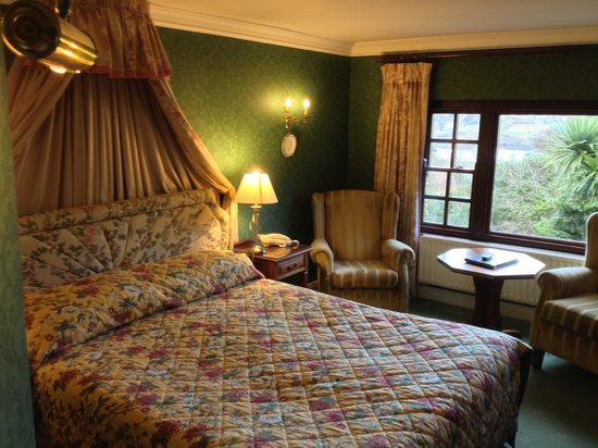 Abbeyglen Castle Hotel: Our room