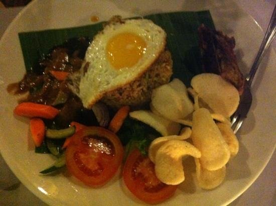 Mutiara Bali Boutique Resort & Villas: nasi goreng 45000rph YUM!!
