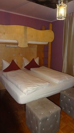 Hotel Fantasia: Very confortable bed