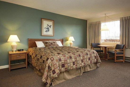 Harbor Inn: room with queen bed
