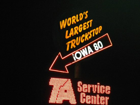 Iowa 80, World's Largest Truck Stop : It's Big