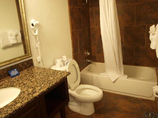 Hotel Aspen InnSuites Flagstaff / Grand Canyon: Belle salle de bain