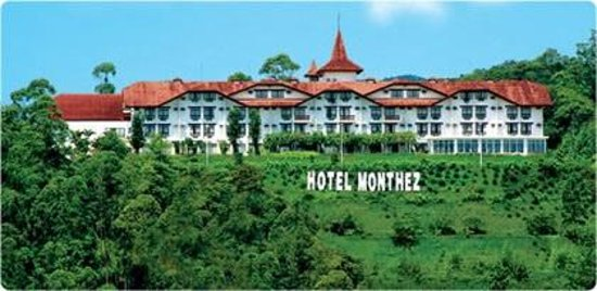 Hotel Monthez : panoramic view