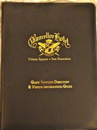 Chancellor Hotel on Union Square: Guest directory