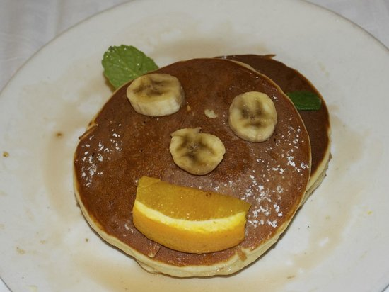 Chancellor Hotel on Union Square: Buttermilk pancakes