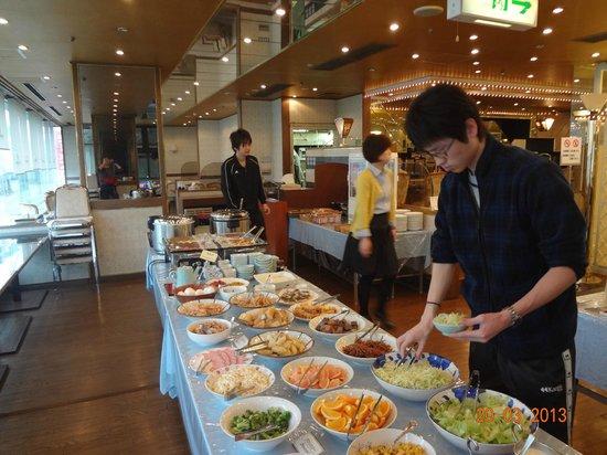 APA Hotel Komatu Grand: 朝食会場