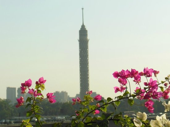 Ramses Hilton - Cartão postal do Egito, a Torre do Cairo