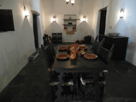 Spanish Governor's Palace: A view of the kitchen