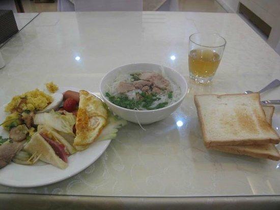 Ho Sen Hotel: 美味しかった朝食
