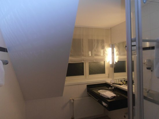 Nestor Hotel Neckarsulm: Weird setup in the bathroom