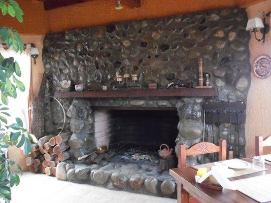 Hosteria Rukahue: sala de estar