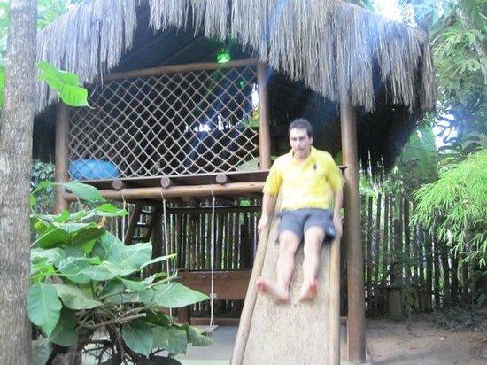 Pousada Bambu: Parquinho das Crianças (e adultos também)