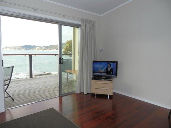 Te Puka Tavern: View from sofa