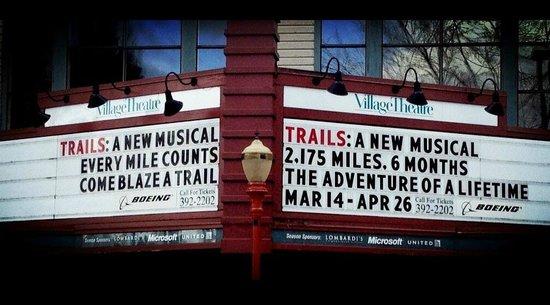 Francis J. Gaudette Theatre: Village Theatre Marque