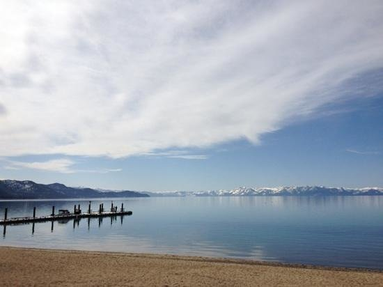 Hyatt Regency Lake Tahoe Resort, Spa and Casino: view from the private hyatt beach