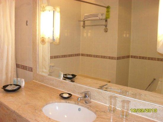 Hotel Equatorial Melaka: Wash area