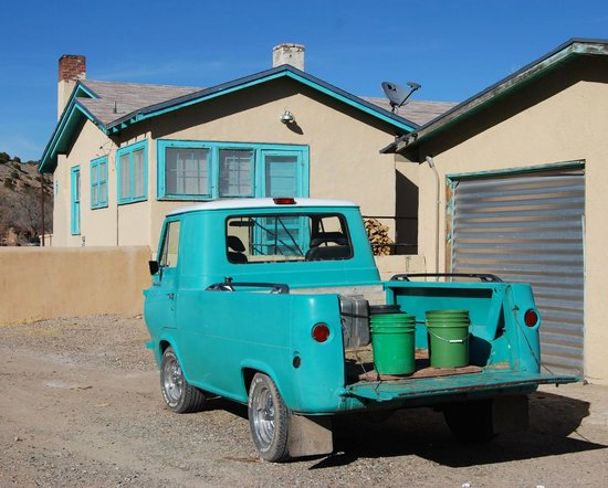 Ojo Caliente Mineral Springs Resort and Spa : Classic 1961 Ford