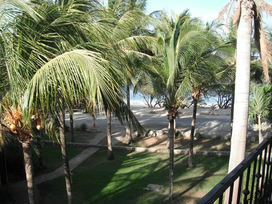 Flamingo Beach Resort And Spa: View from balcony