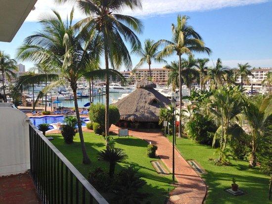 Flamingo Vallarta Hotel & Marina: Bonita vista