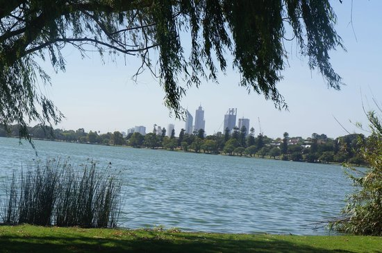 Lake Monger: Perth CBD Skyline