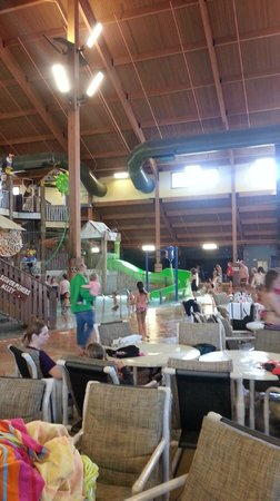 Wilderness Resort: Frontier water park
