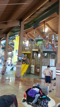 Wilderness Resort: One of four Indoor Water Parks on the property