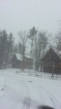 Wilderness Resort: Winter wonderland just not in March!