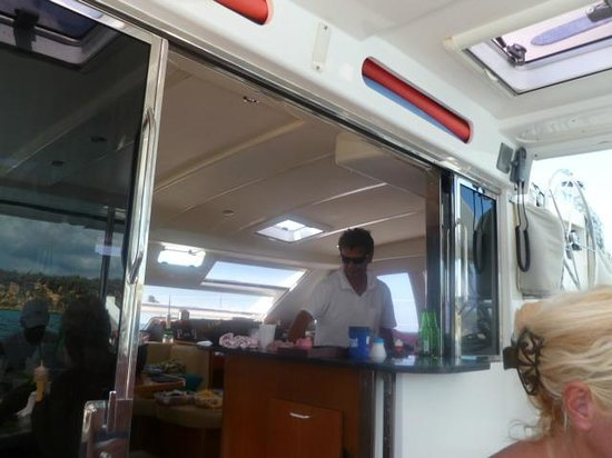 St Martin Catamarans Charters: Our Chef Alain