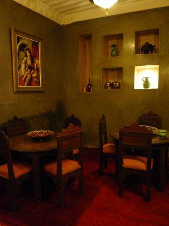 Riad Elnoujoum : Salle à manger
