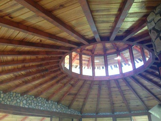 Hotel Cascata Del Bosco: CABINA CEILING
