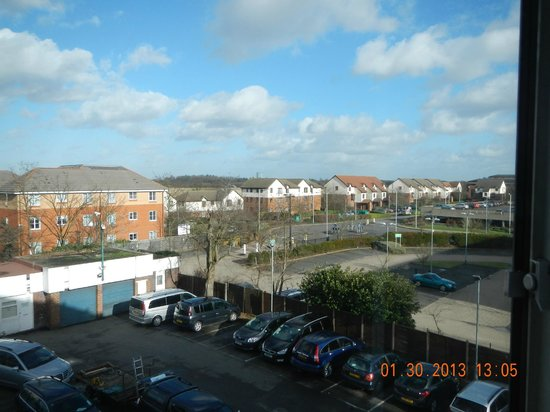 Holiday Inn London - Heathrow Ariel: view from my room