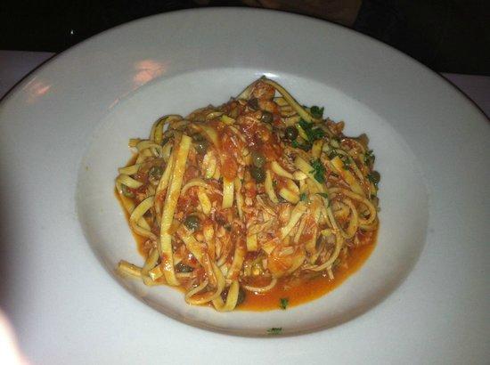 Basta Pasta: Tagliolini with sea bass ragù