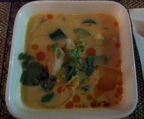 Restaurant thaïlandais Chanchai: Soupe Tom Kha