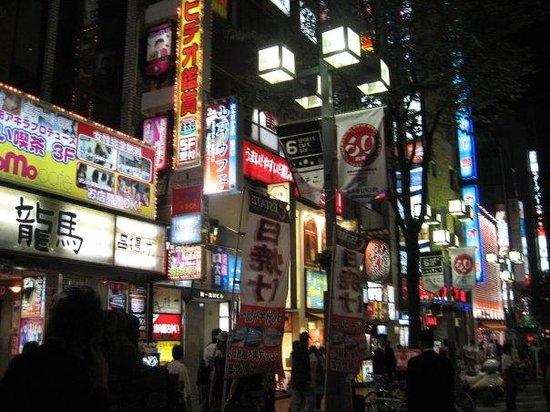 "Premier Hotel -CABIN- Shinjuku: the ""Red Light District"""