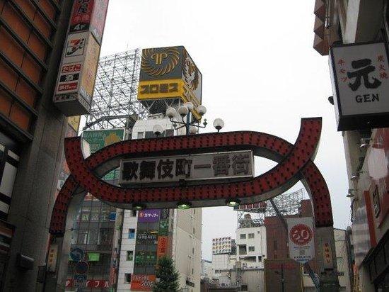 Premier Hotel -CABIN- Shinjuku: Shibuya during the day