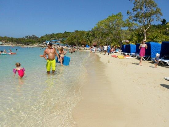 Labadee Columbus Cove Beach