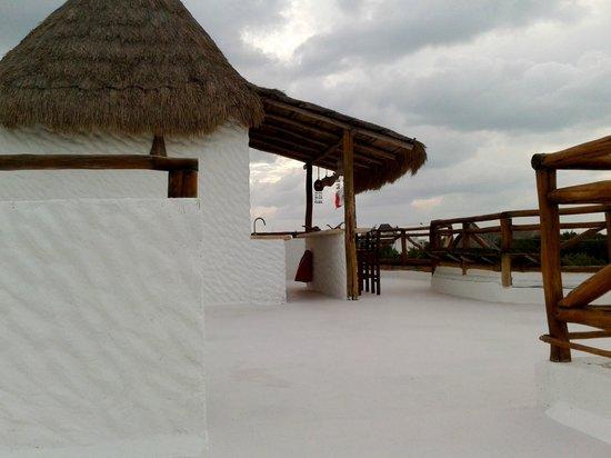 Villa los Mangles : Terraza de la habitación