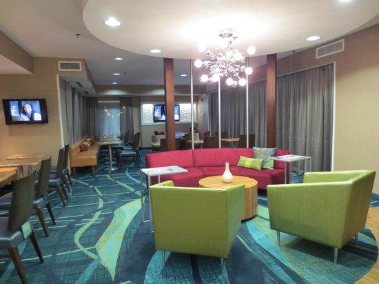 SpringHill Suites Nashville MetroCenter: lobby