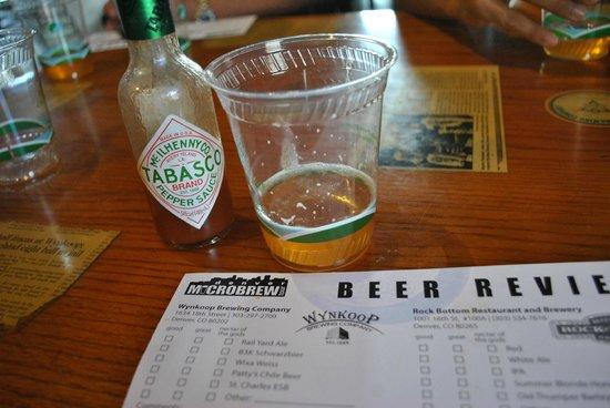 Denver Microbrew Tour: Chilli Beer